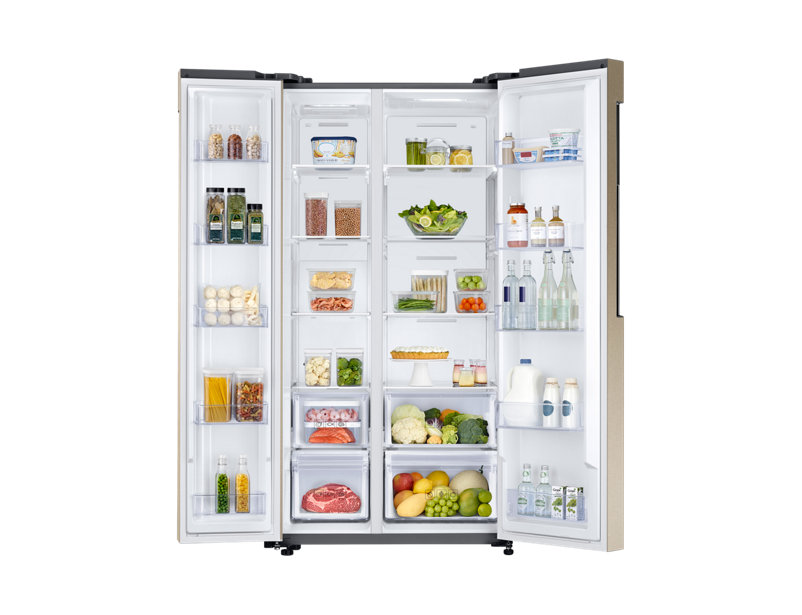Expert Review Samsung 674 Litre Side By Side Refrigerator